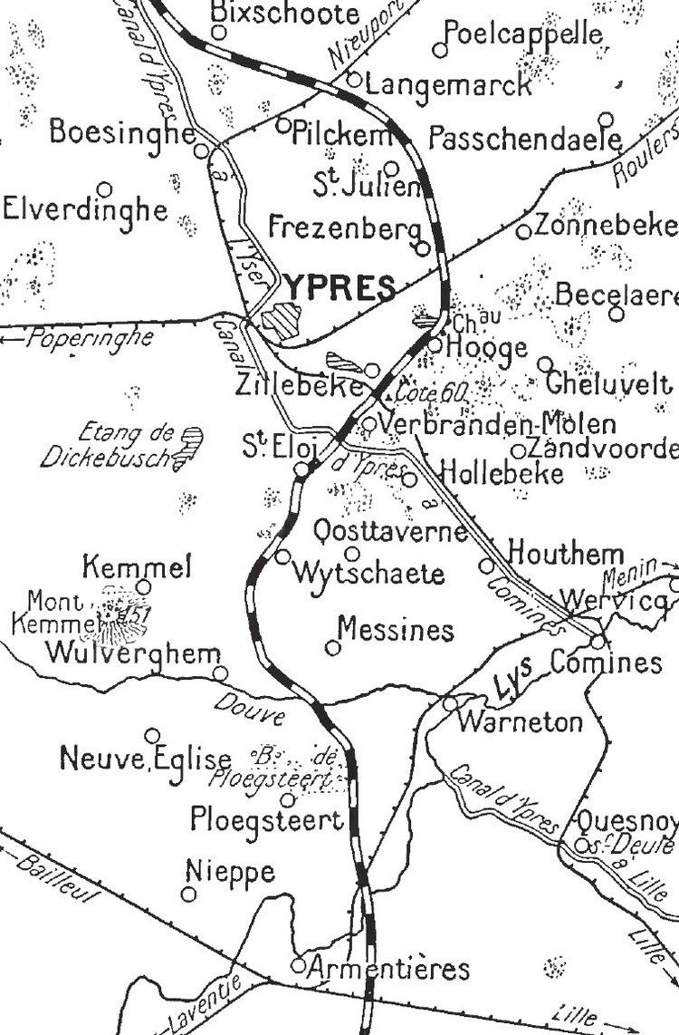 Armentieres in the past, History of Armentieres