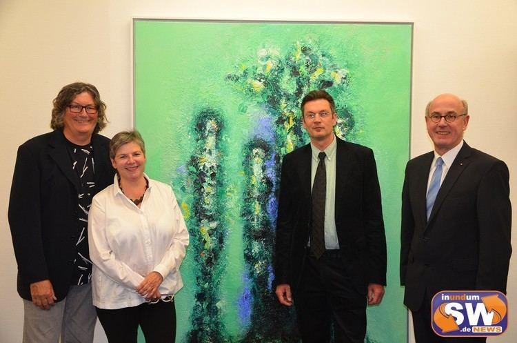 Armin Baumgarten Malerei und Skulpturen von Armin Baumgarten in der Sparkassengalerie