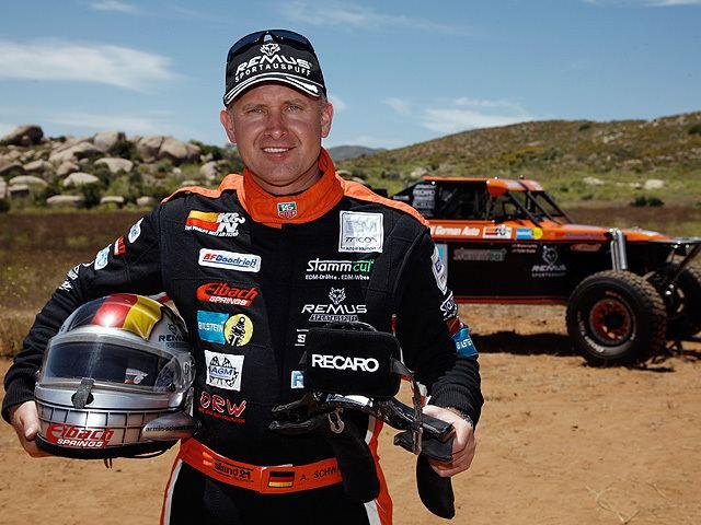 Armin Schwarz Baja race only in the RECARO SPA Armin Schwarz got