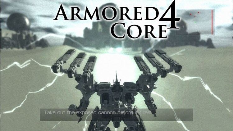 Armored Core 4 Armored Core 4 PS3 360 30 Minute Gameplay YouTube