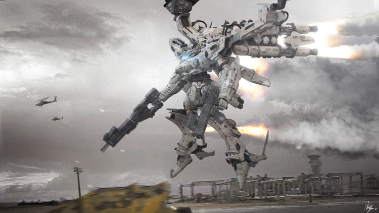 armored core tower city blade manga