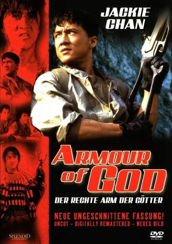Armour of God (film) movie poster
