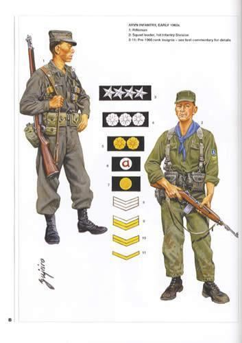 Army of the Republic of Vietnam MenatArms 458 Army of the Republic of Vietnam 195575 by Gordon
