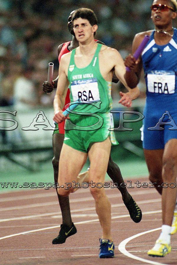 Arnaud Malherbe Arnaud Malherbe relay0002JPG Saspa South African Sports Picture