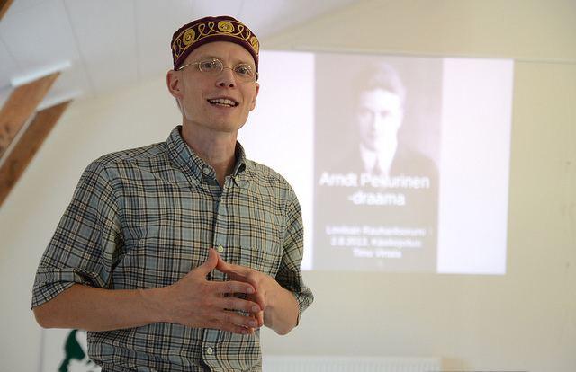 Arndt Pekurinen Arndt Pekurinen el primer objetor de conciencia finlands