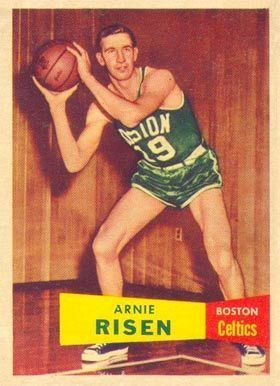 Arnie Risen 1957 Topps Arnie Risen 40 Basketball Card Value Price Guide