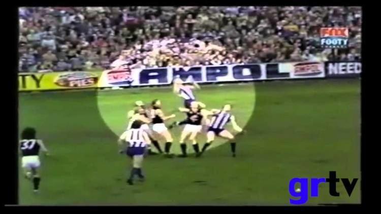 Arnold Briedis Arnold Briedis Screamer Rd 20 1978 vs Carlton YouTube