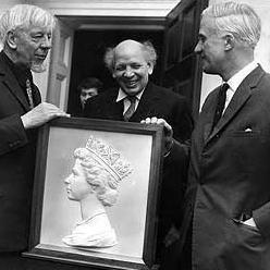 Arnold Machin Arnold Machin obit sculptor coin and stamp designer