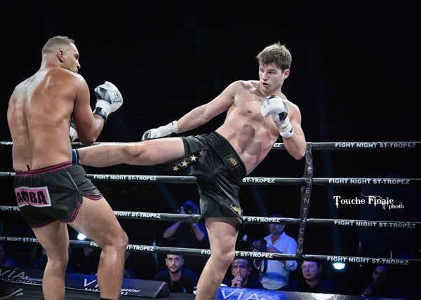 Arnold Oborotov WKN World Nicolas Wamba vs Arnold Oborotov at Fight Night Saint