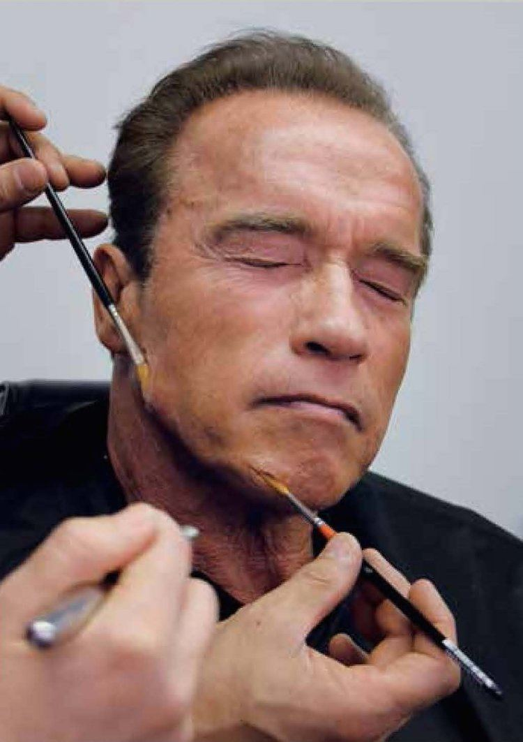 Arnold Schwarzenegger Terminator Genisys39 Arnold Schwarzenegger makeup