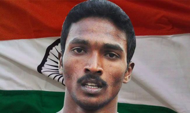 Arokia Rajiv Rajiv Arokia wins bronze medal for India in the men39s 400m
