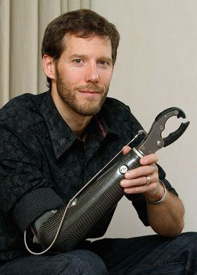 Aron Ralston Aron Ralston was forced to cut off his own arm to free himself from