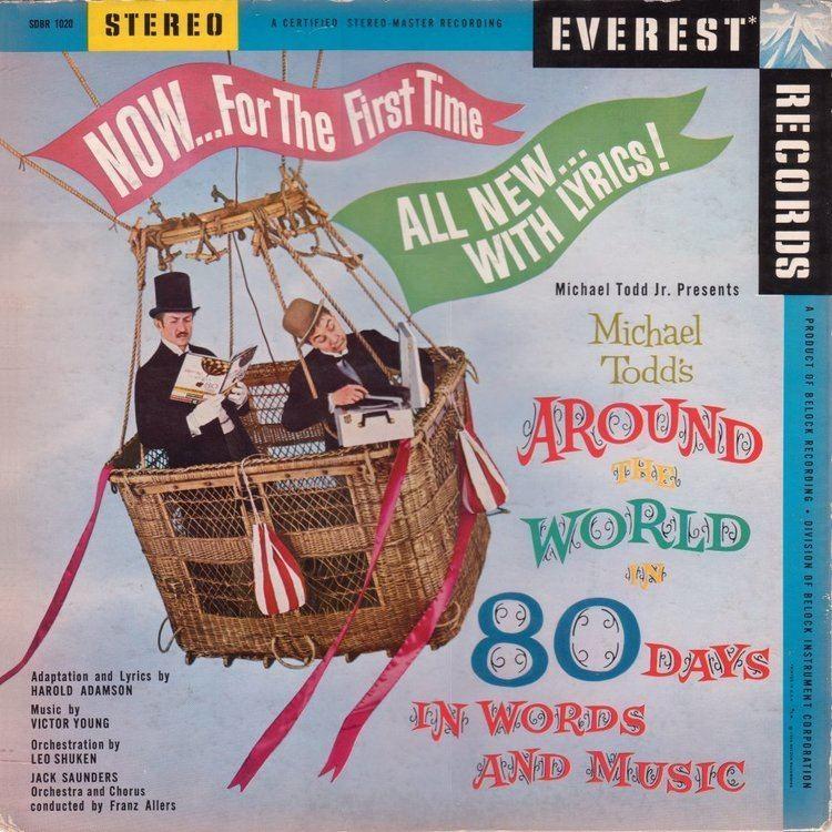 Around the World in 80 Days (1956 film) My collection Michael Todds Around the World in 80 Days in Words