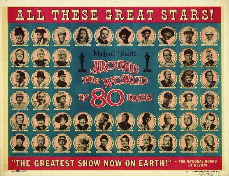 Around the World in 80 Days (1956 film) Around the World in 80 Days 1956 So few critics so many poets