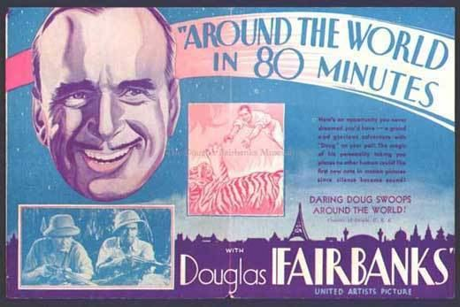 Around the World in 80 Minutes with Douglas Fairbanks Around the World in 80 Minutes with Douglas Fairbanks Movie Posters