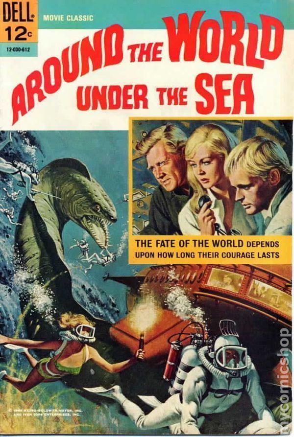 Around the World Under the Sea Around the World Under the Sea 1966 Movie Classics comic books