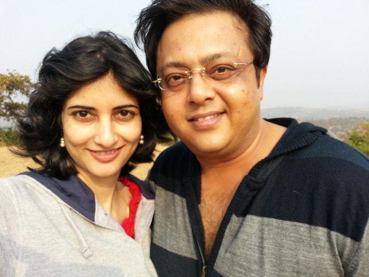 Arpita Pandey TV Actor Nitesh Pandey Wife Arpita Pandey MERE PIX