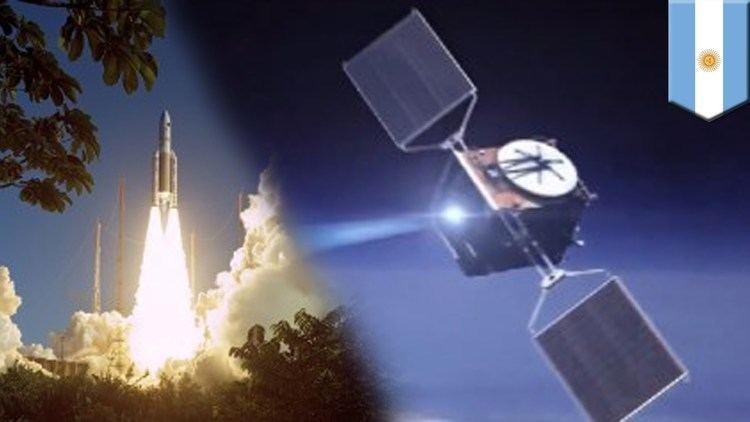 ARSAT-1 Argentina39s first homebuilt satellite ArSat1 enters orbit YouTube