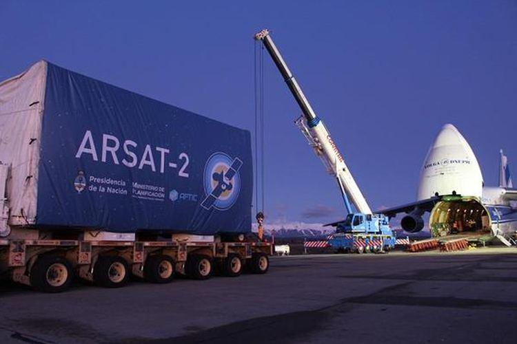 ARSAT-2 Haba arreglo Le dieron el Arsat 2 al grupo Clarn y a TyC