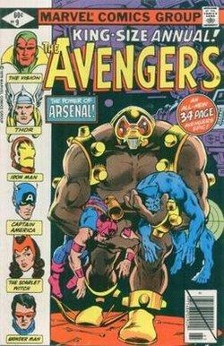 Arsenal (Marvel Comics) Arsenal Marvel Comics Wikipedia