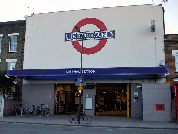 Arsenal tube station