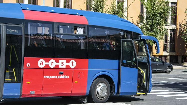 ARST (company) Bus transfer from Alghero Airport bluAlgheroSardinia