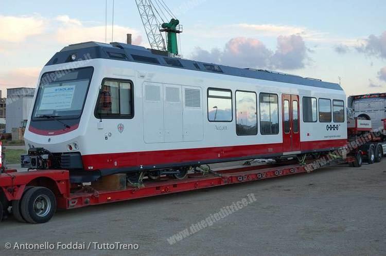 ARST (company) ARST arrivato in sardegna il primo treno Stadler