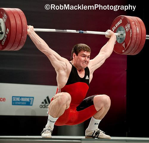 Artem Ivanov (weightlifter) Interview with Artem Ivanov 2 times silver medalist at the World