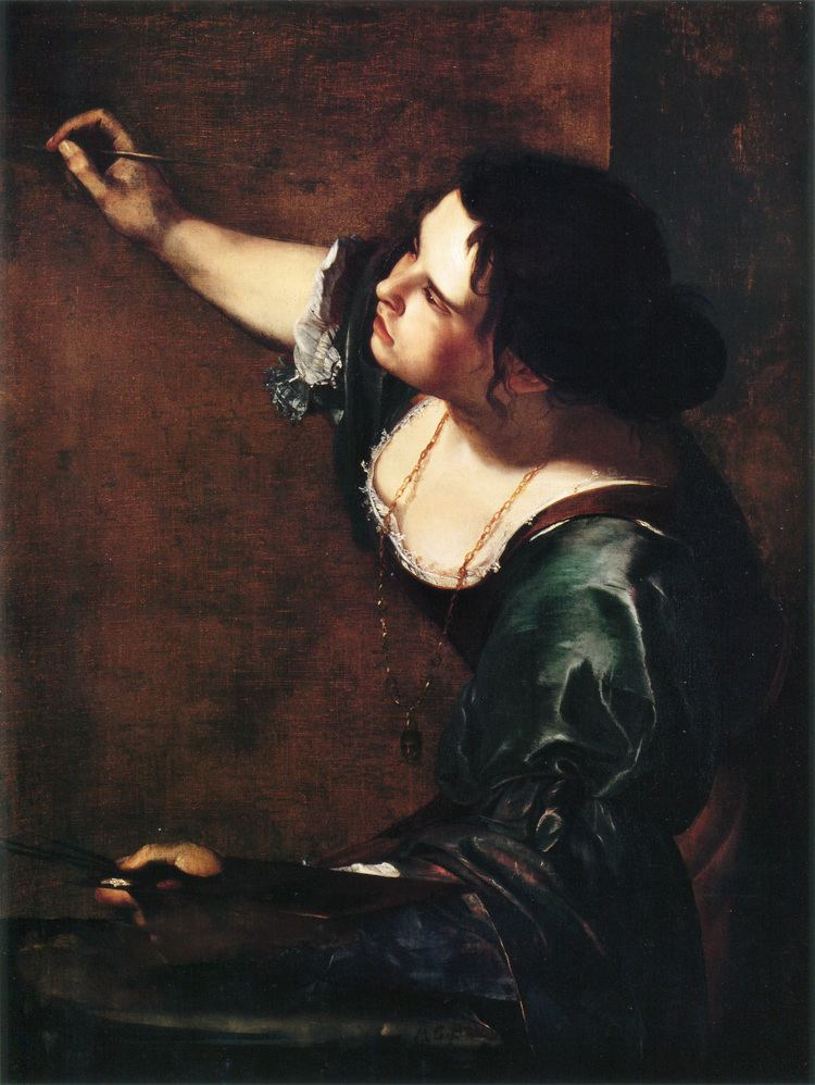 Artemisia Gentileschi FileSelfportrait as the Allegory of Painting by