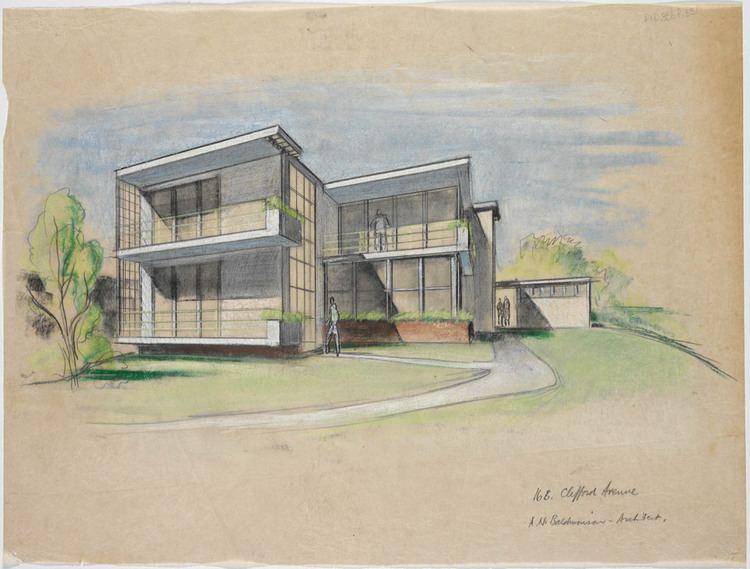 Arthur Baldwinson Arthur Baldwinson Architecture Arrival of Modernism Stories