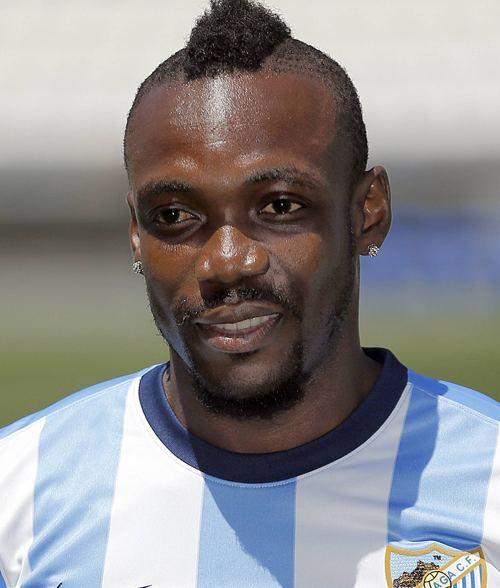 Arthur Boka Arthur Boka FC Malaga Liga BBVA alle