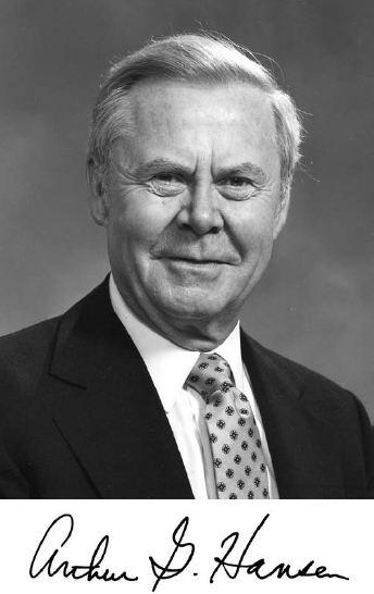 Arthur G. Hansen ARTHUR G HANSEN Memorial Tributes Volume 16 The National