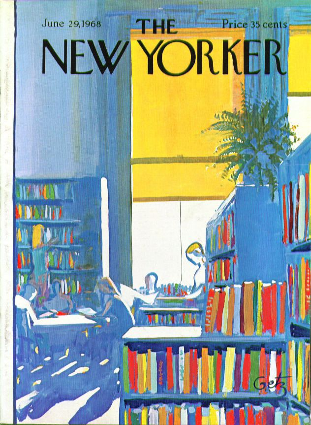 Arthur Getz Books and Art The New Yorker Published June 29 1968