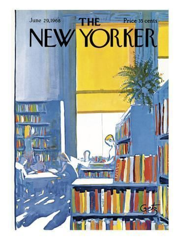 Arthur Getz The New Yorker Cover June 29 1968 Poster Print by