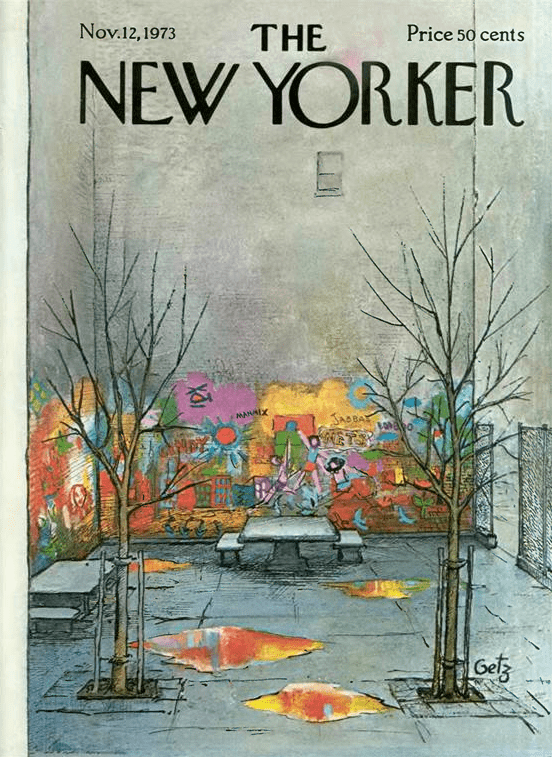 Arthur Getz November 12th 1973 at The New Yorker Shelley Davies