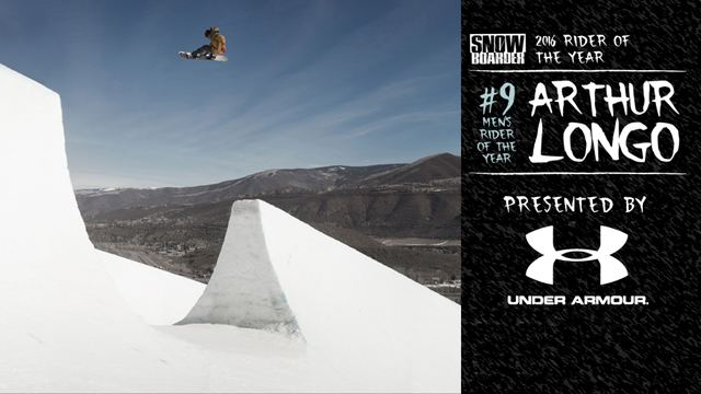 Arthur Longo SNOWBOARDER Magazine Rider of the Year 2016 9 Rider of the Year