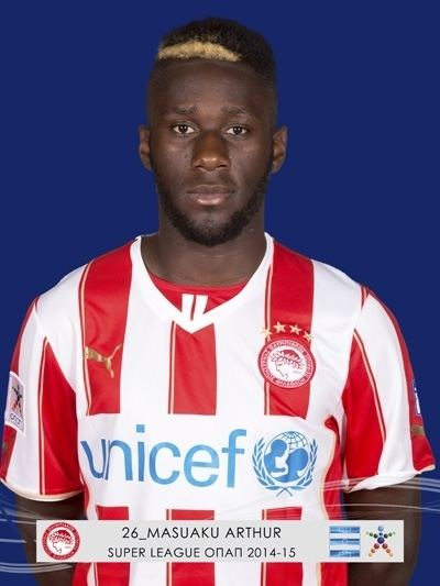 Arthur Masuaku ARTHUR MASUAKU OLYMPIACOS FC Super League Greece