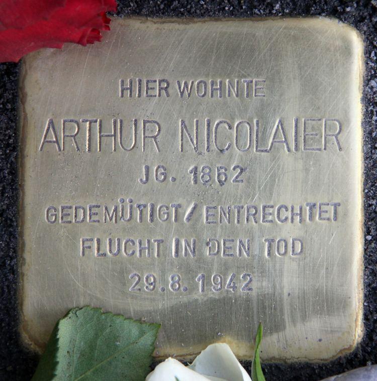 Arthur Nicolaier Arthur Nicolaier Wikiwand