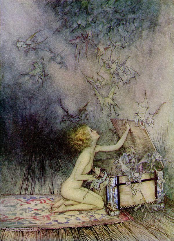 Arthur Rackham Rackham Fairy and Fairy Tale Art Arthur Rackham