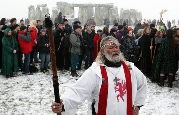 Arthur Uther Pendragon Pictures of the day 22 December 2009 Telegraph