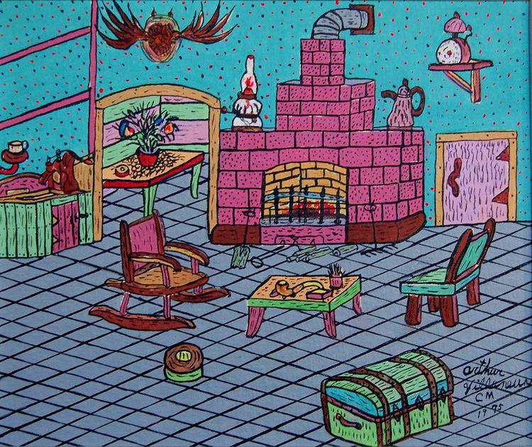 Arthur Villeneuve Arthur Villeneuve artist primitive galerie la corniche artr gallery