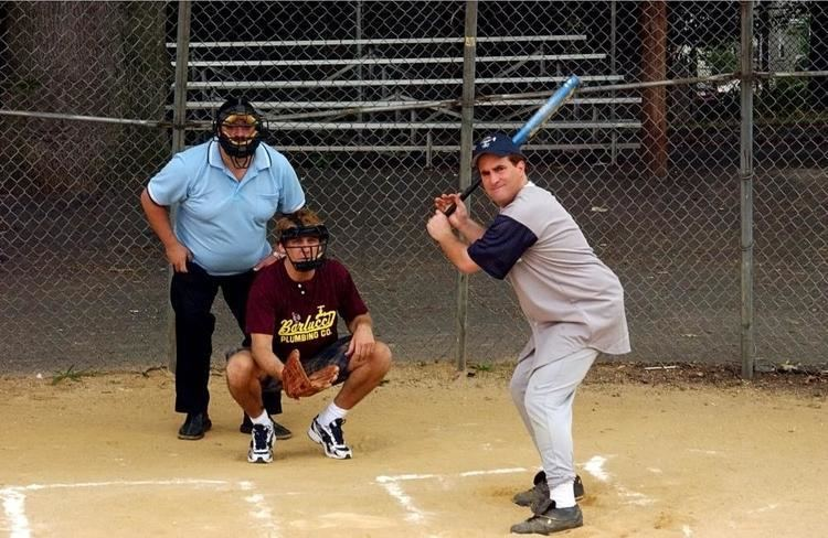 Beer League movie scenes BEER LEAGUE Jimmy Palumbo at bat 2006 c Freestyle