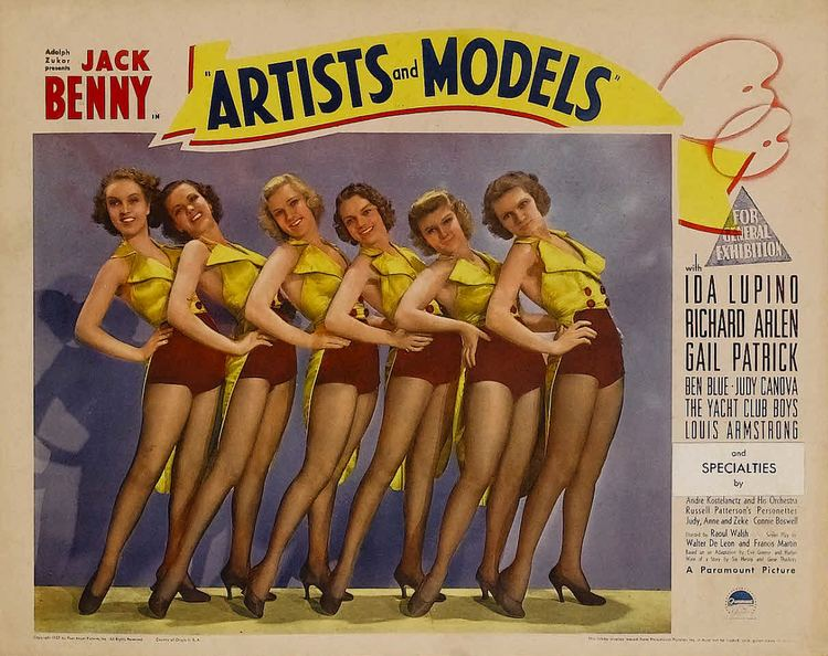 Artists and Models (1937 film) Artists and Models 1937