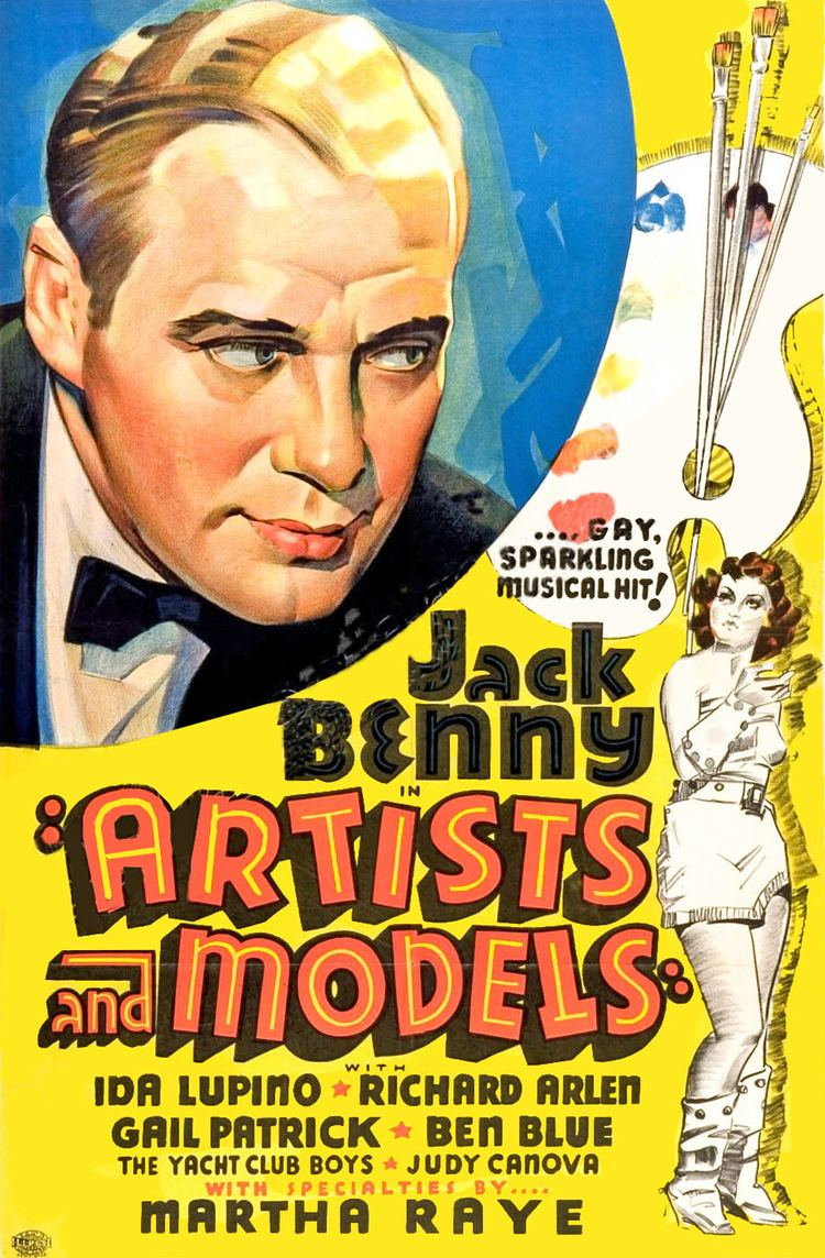 Artists and Models (1937 film) wwwdoctormacrocomImagesPostersAPoster2020