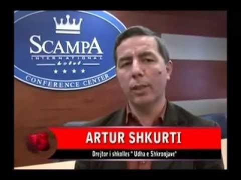 Artur Shkurti Artur Shkurti Intervist n TV Skampa rreth Olimpiads XII