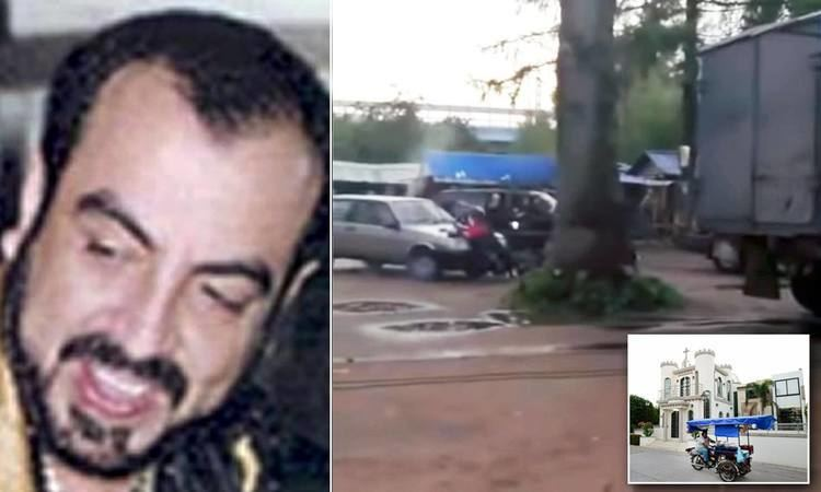 Gunmen pull up in SUVs, kill five men near a tomb where a former Mexican  drug lord rests | Daily Mail Online