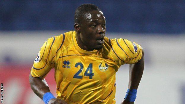 Aruna Dindane BBC Sport Aruna Dindane Crystal Palace sign Ivory Coast