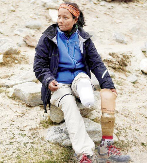 Arunima Sinha Arunima Sinha Conquered Everest With Amputated Leg
