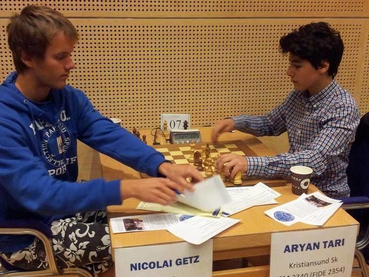 Aryan Tari 14 year old Norwegian Aryan Tari set to become one of the youngest