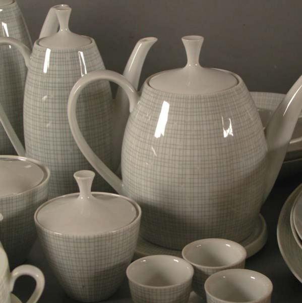 Arzberg porcelain Arzberg Porcelain coffee service Germany 1957 Form 2025No 5000